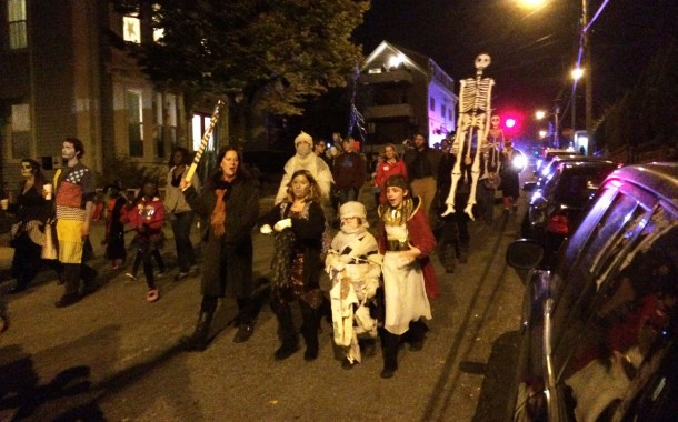The West End Halloween Parade Is On!
