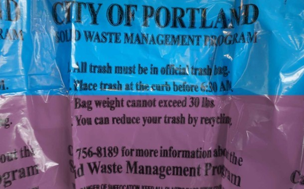 Blue Trash Bags Turn Purple... and Cost More