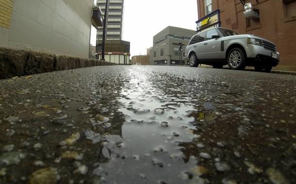 Heavy Rains Cause Damage Across City