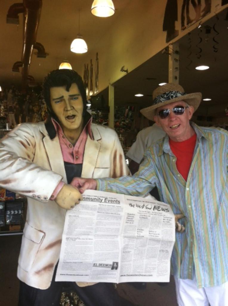 WEN Photo Ed King and Elvis
