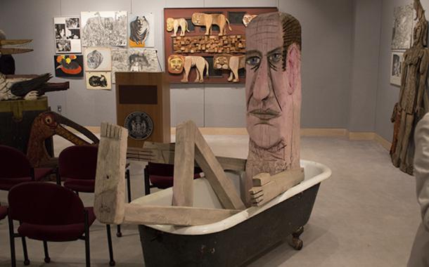 Thursday, September 18 - Public Art Committee Commemorates Acquisition of Bernard Langlais Works