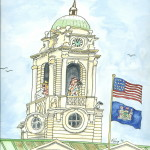 City Hall Tourists by Ed King