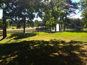 Deering Oaks Pond