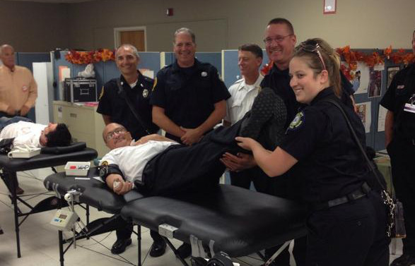 Donors OverwhelmSuccessful 9/11 Blood Drive