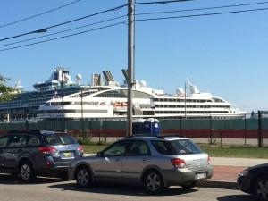 Cruise Ship in Portland, ME
