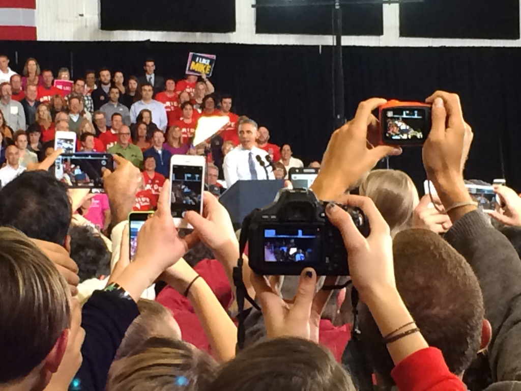 President Obama Visits Portland