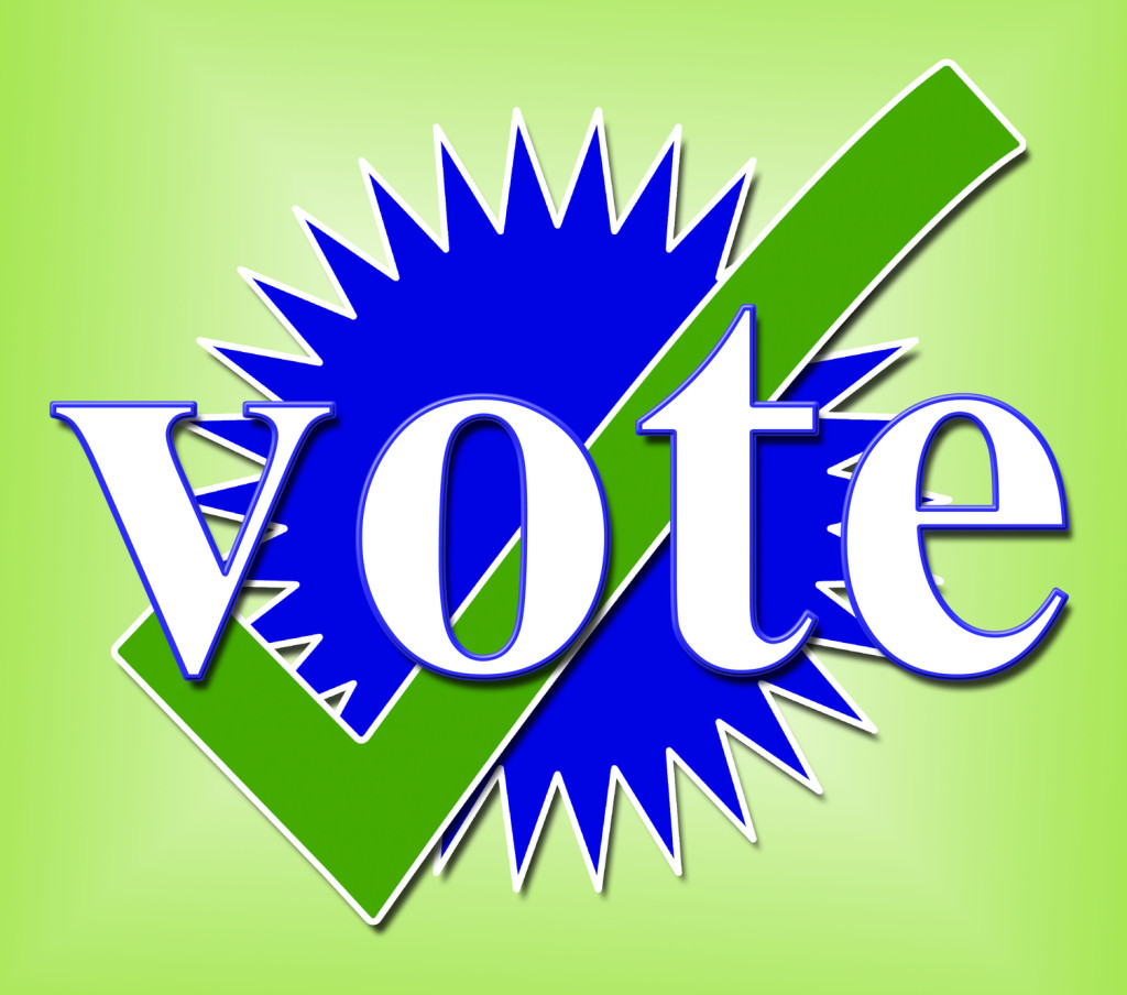 Vote Tick Means All Right and Ok