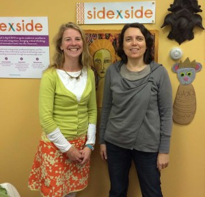 Side x Side Cofounders Beth Wibur Van Mierlo and Annette Kraus