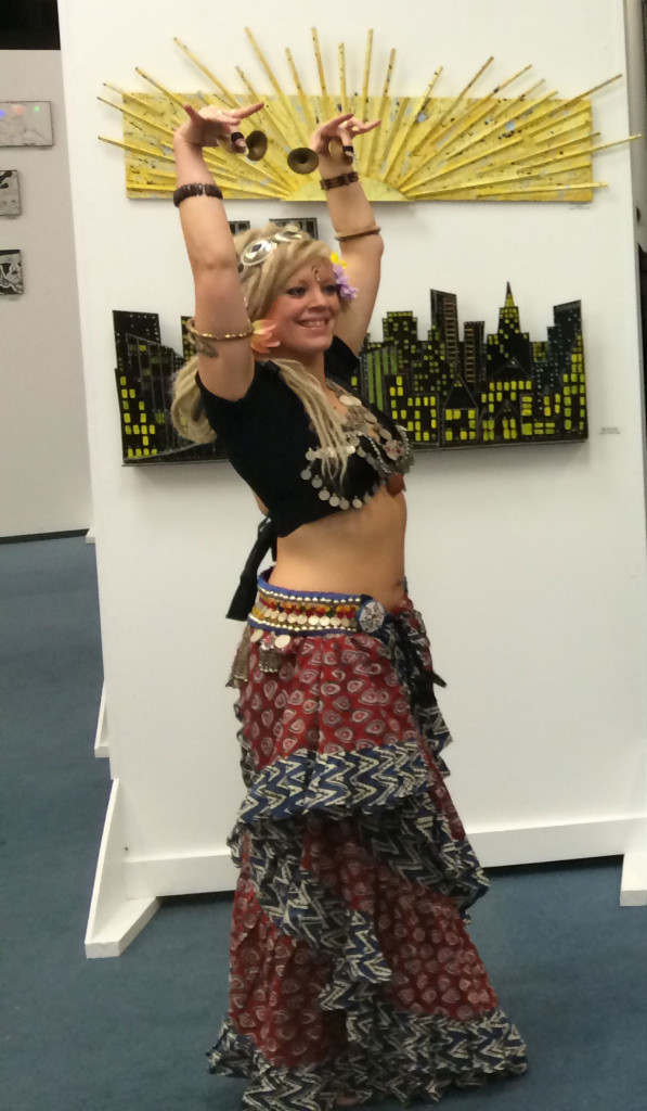 NABINTU DANCING AT CONSTELLATION GALLERY