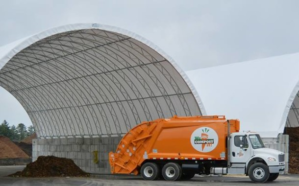 New Composting Truck Hits the Streets