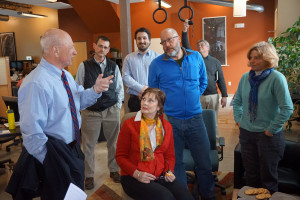 Mayor Brennan Speaks with Entrepreneurs