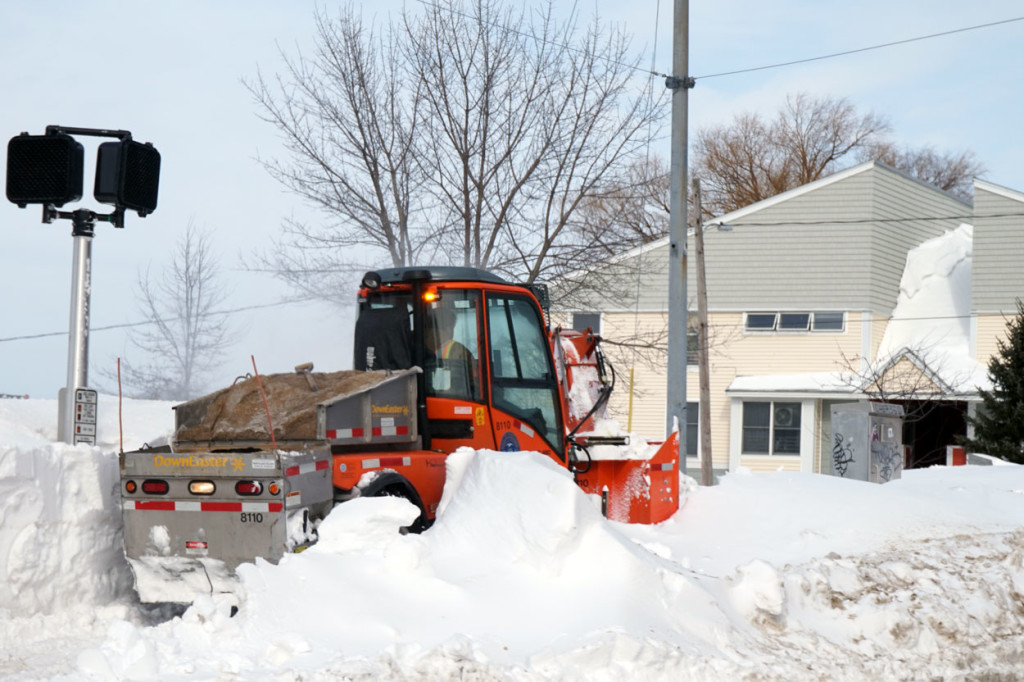 West End News - Winter Sidewalk Plow