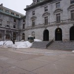 City Hall in Winter - Pesticide Task force meets at City Hall, Rm. 24