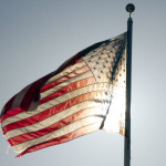 West End News: Sen. Gerge Mitchell: American Flag