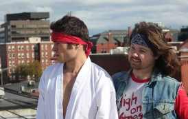 High Kicks, Laughs and Action: Local Filmmaker Set to Release Miniseries