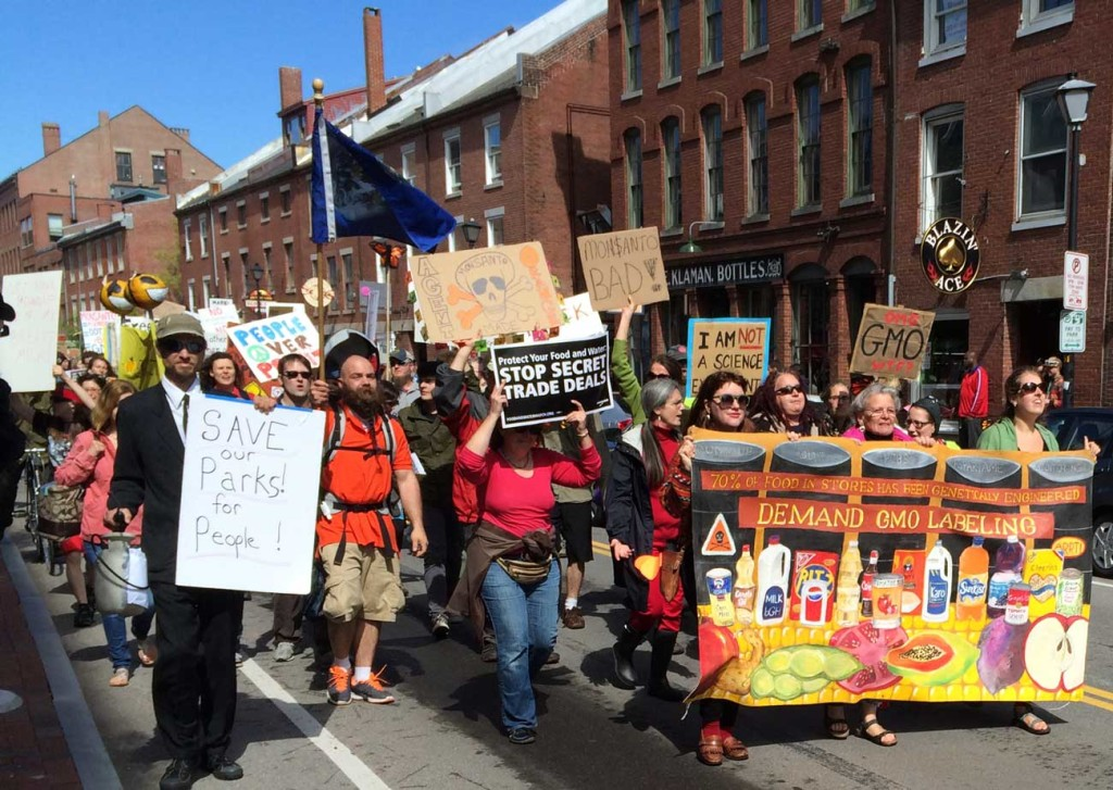 March Against Monsanto, May 2014.