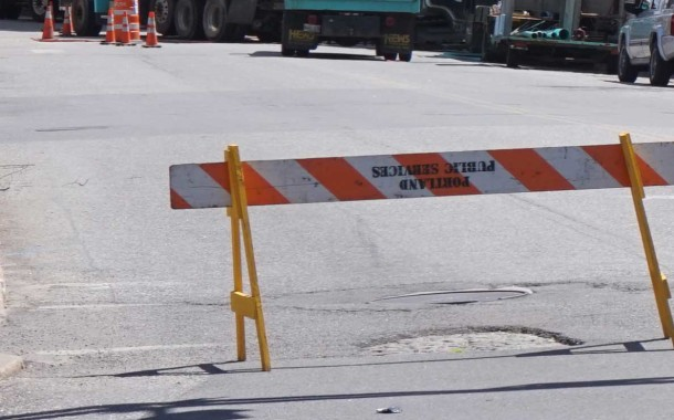Union Street Paving Work Begins