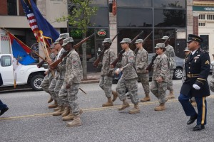 West End News: Young soldiers at Portland Memorial Day Parade.