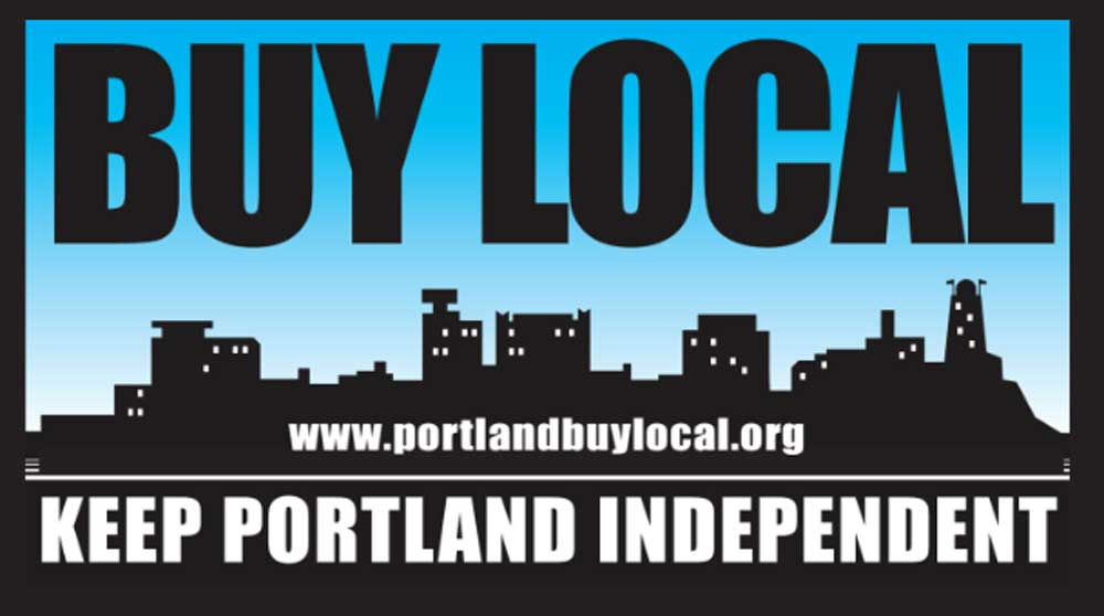 West End News - Local Economy Movement - Buy Local Badge