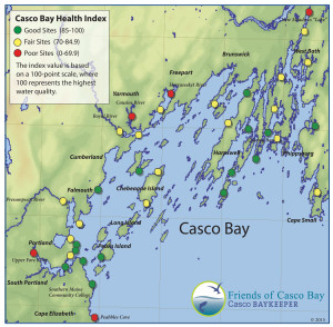 Health Index, Courtesy of Friends of Casco Bay