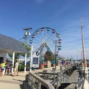 The ferris wheel is back up on the waterfront, a clear sign that the Old Port Fest is nigh.