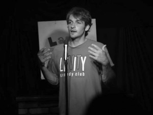 Sam Pelletier performs comedy throughout New England and hosts a weekly stand-up comedy night at b.good Portland on Mondays.