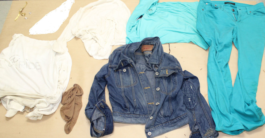Clothing found on  unidentified woman. Courtesy of Portland Police.