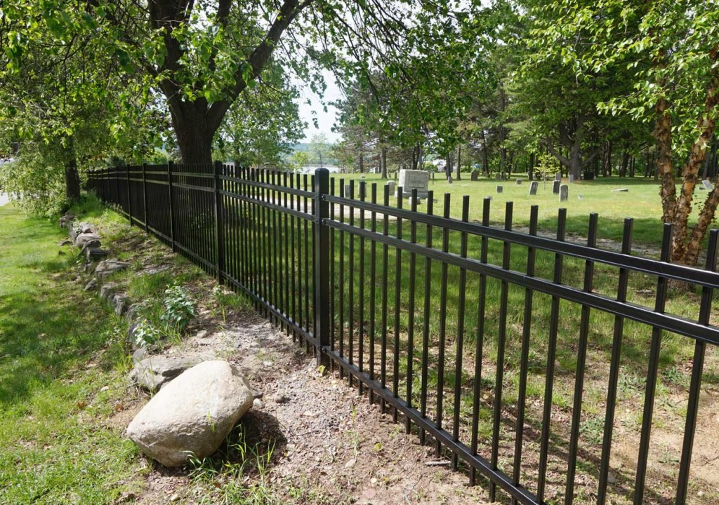 Western Cemetery Fence