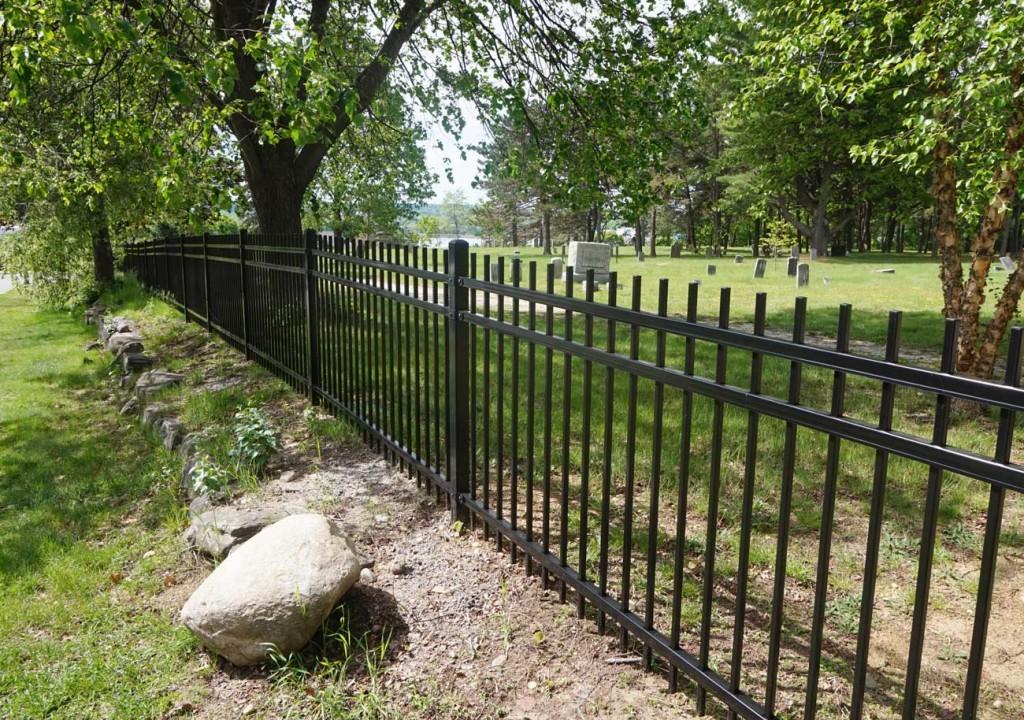 Western Cemetery Fence