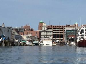 Cityscape from Portland Harbor
