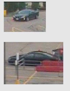TD Bank robbery getaway car. Courtesy of Portland PD.