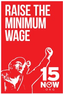 Raise the Minimum Wage graphic