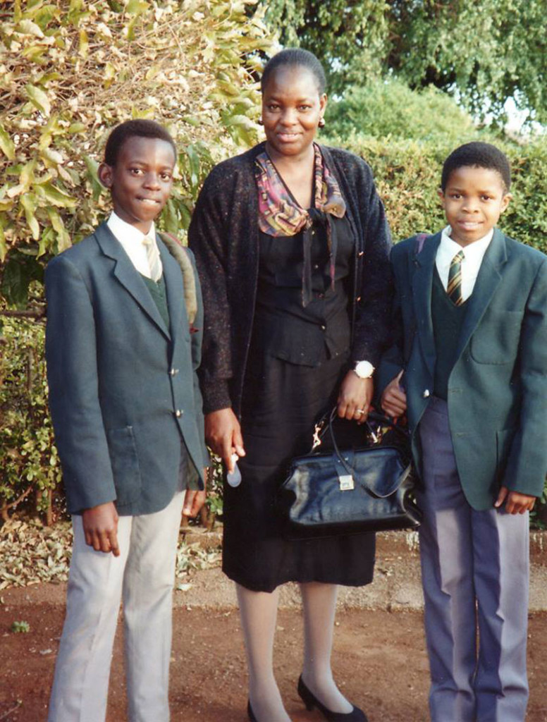 The teacher from Bulawayo