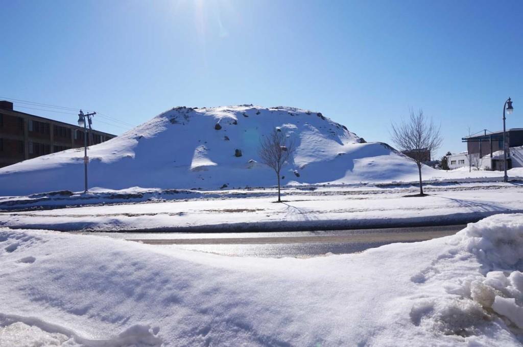City snow dump on Somerset St.