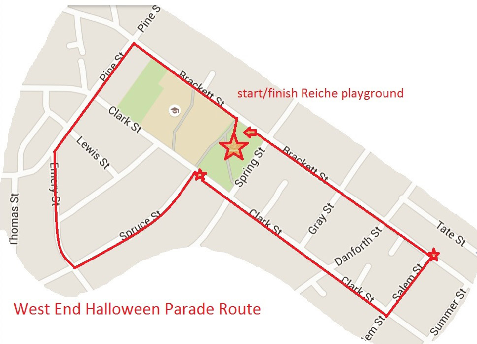 Parade Route 2015