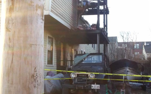 PET DOG DIES IN FIRE AT 165 BRACKETT ST