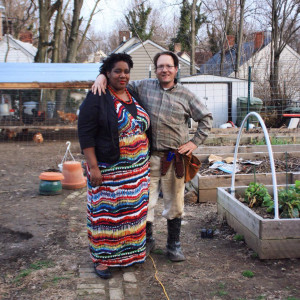 West End News, intesive gardening, Christian and Tanya, Amos Farm, Getting Started