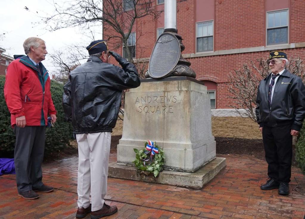 Andrews Square Rededication Ceremony
