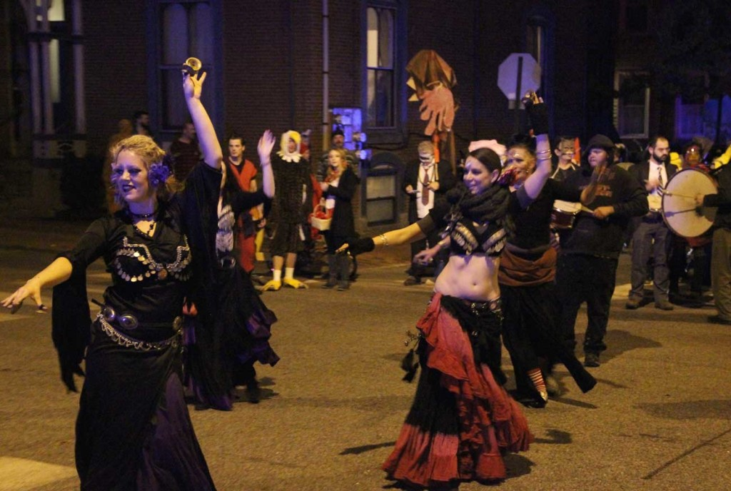 Halloween Parade Belly Dancers