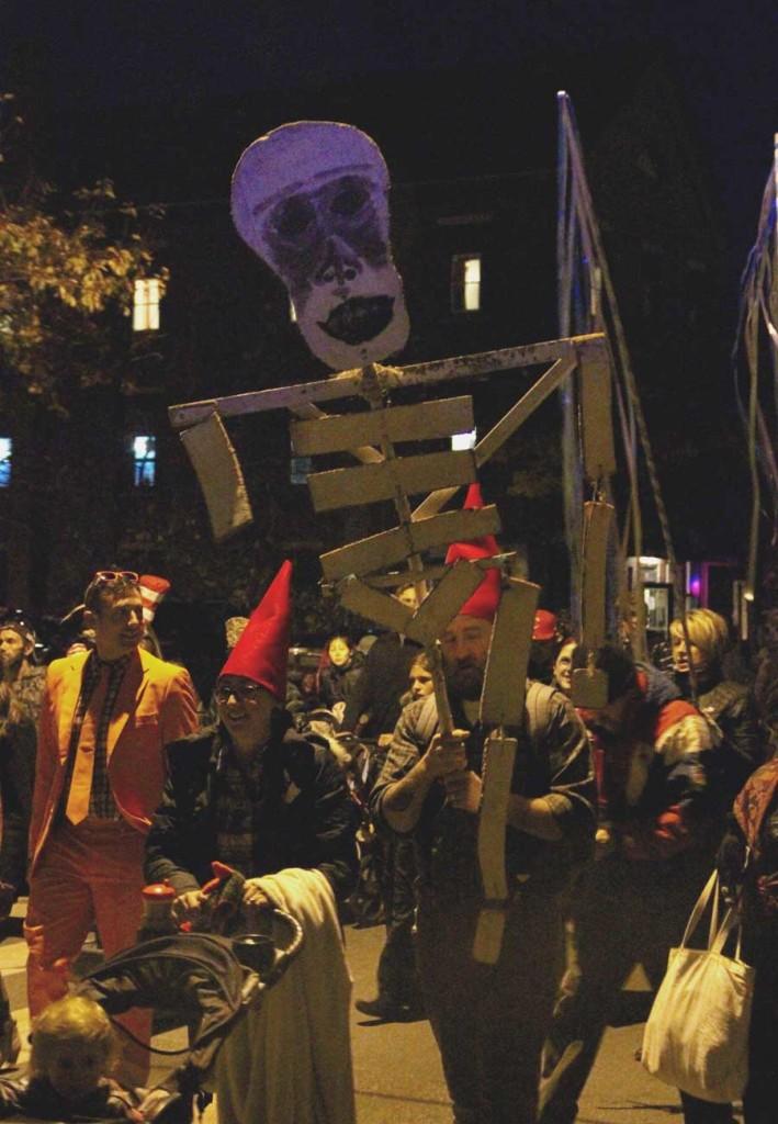 Halloween Parade Skeleton