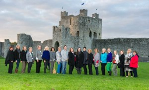 US Expo Familiarization Tour and Workshop 2015 at Trim Castle, Ireland.
