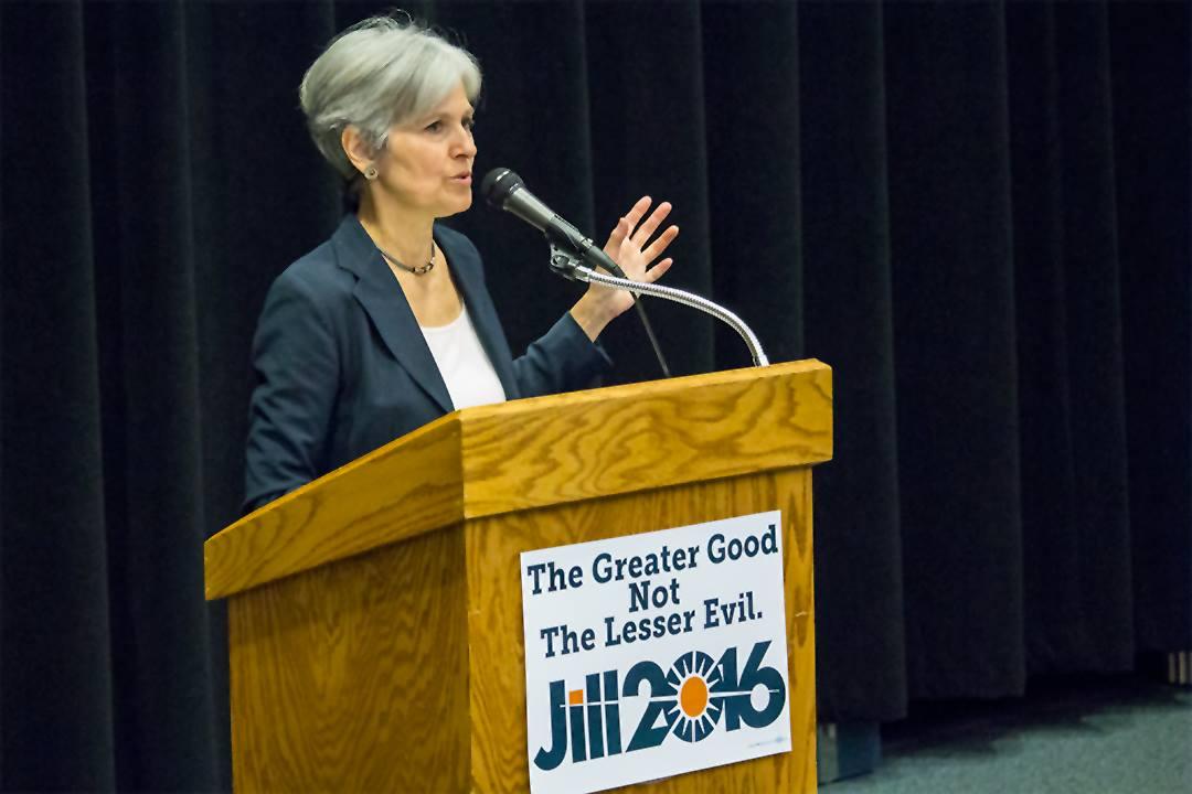 Jill Stein at USM