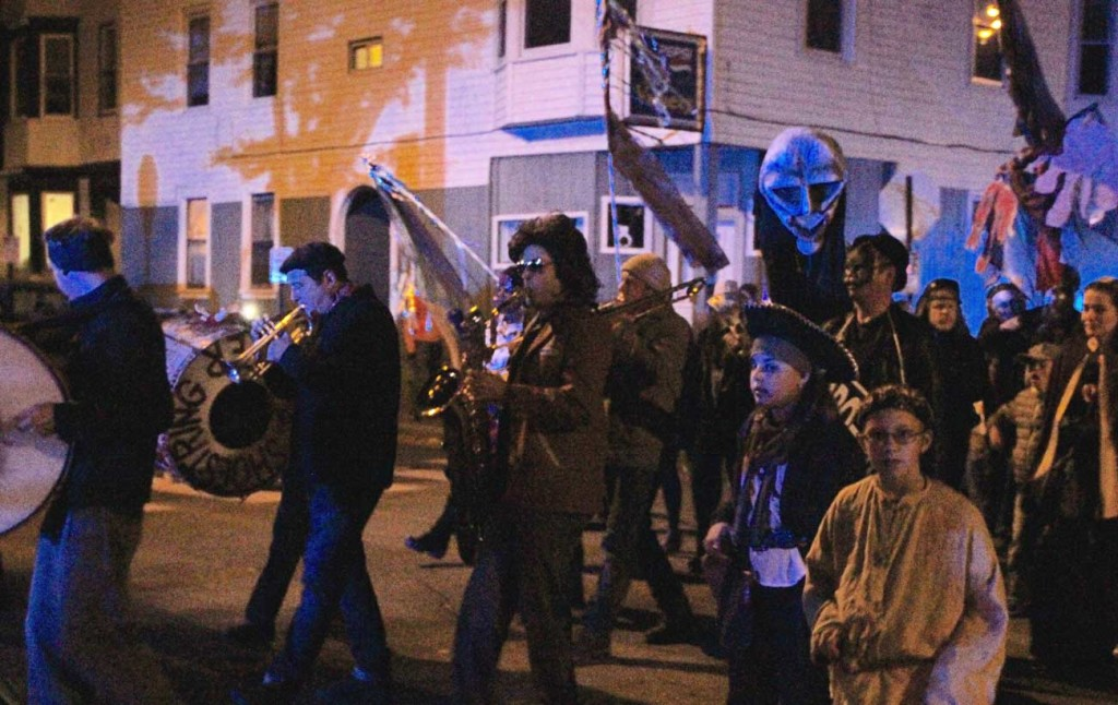 Halloween Parade band