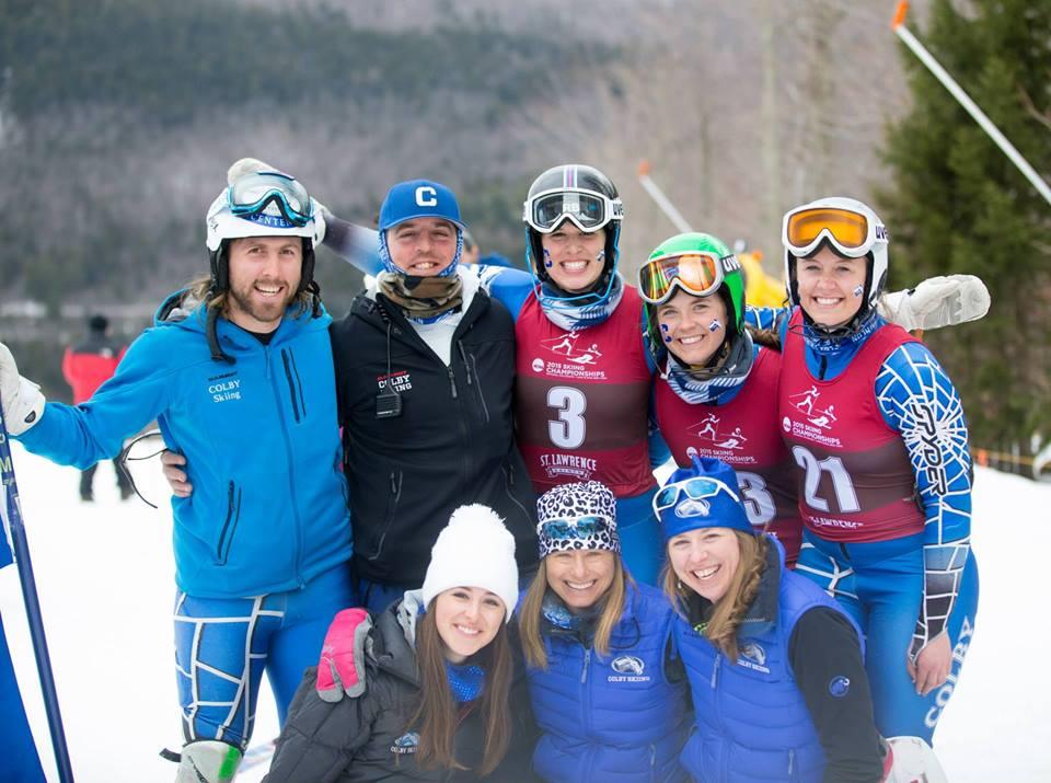 Craig Marshall (left) with US Ski Team.