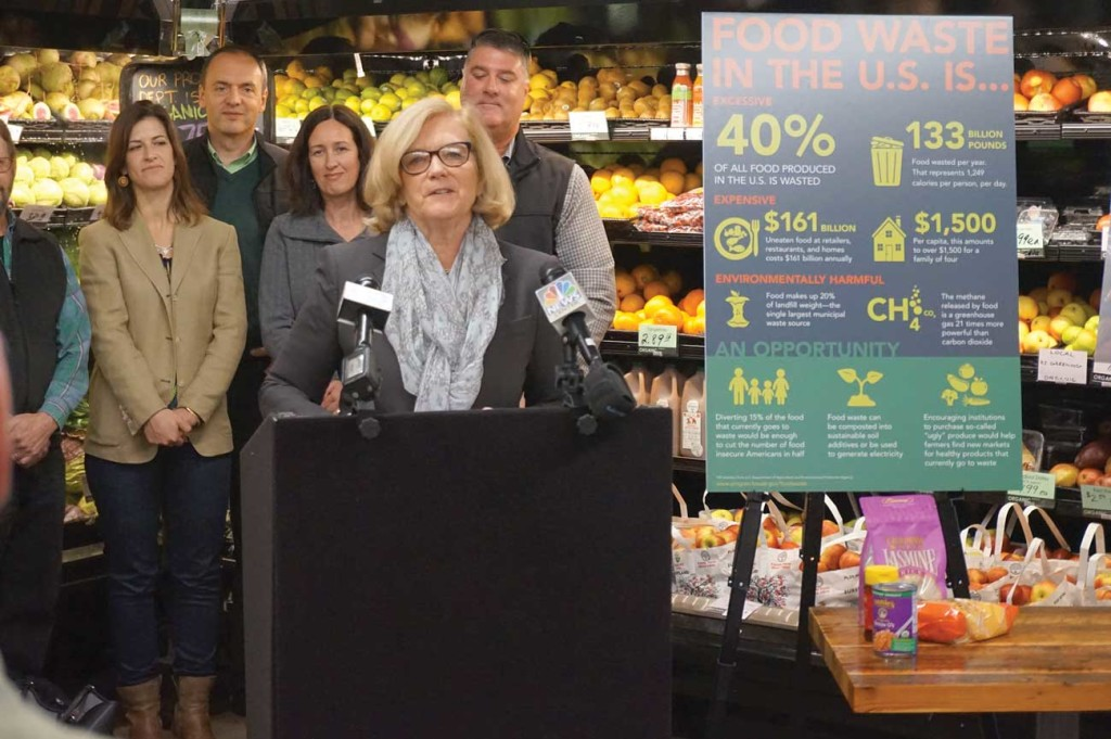 Chellie Pingree at Food Coop