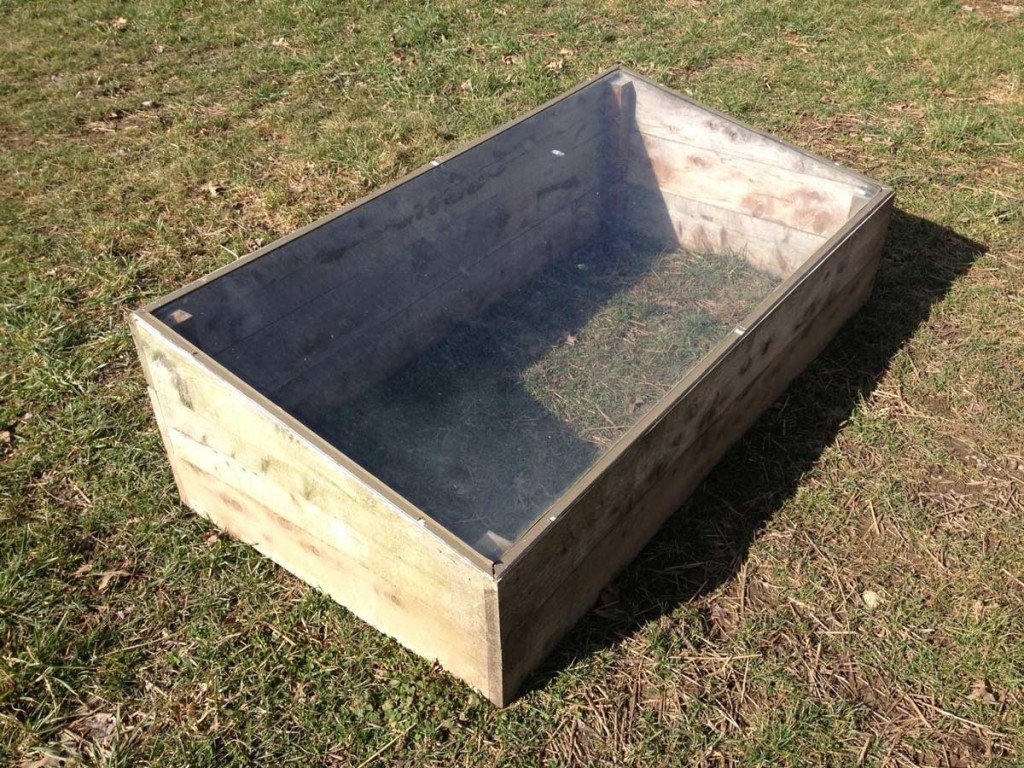 West End News cold frame: Amos Farm Getting Started