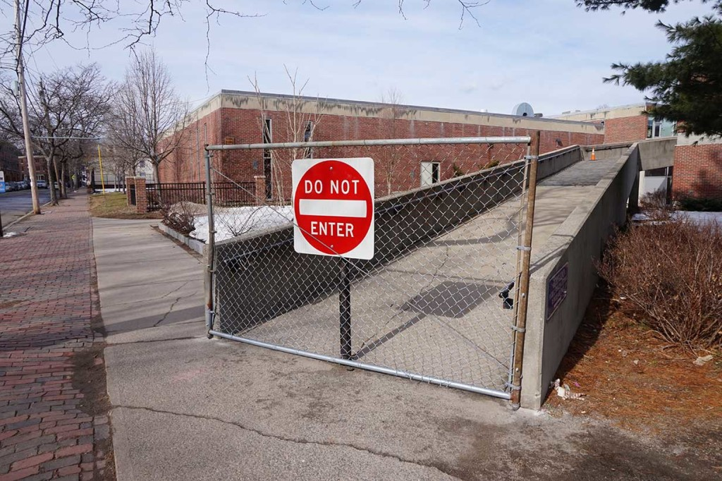 West End News: School Bond Committee - Reiche Ramp Closed