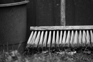 West End News: Spring Cleaning: Mop and bucket