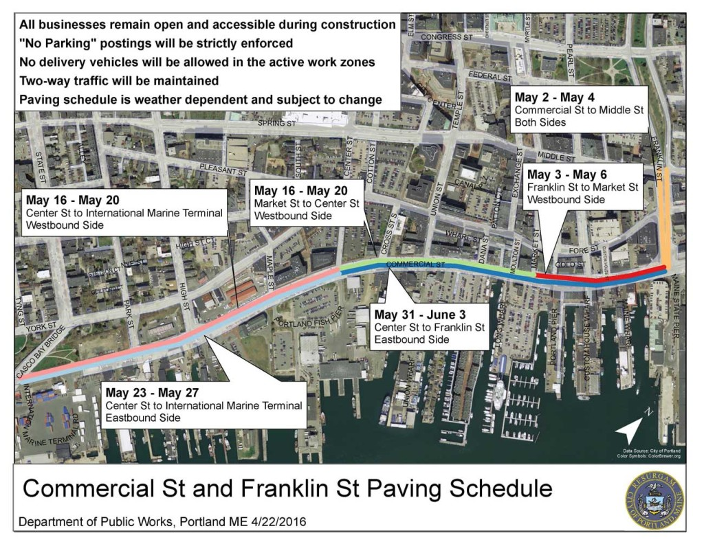 West End News: Street paving in the Old Port
