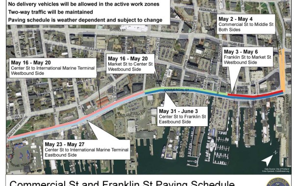 TRAFFIC ALERT: Old Port Street Paving Projects
